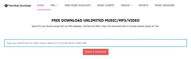 safe website to download music mp3