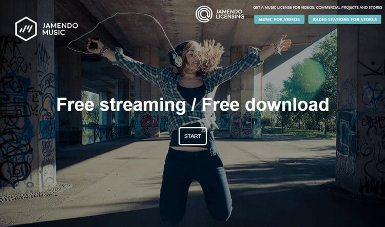 MP3 music download free with Jamendo Music