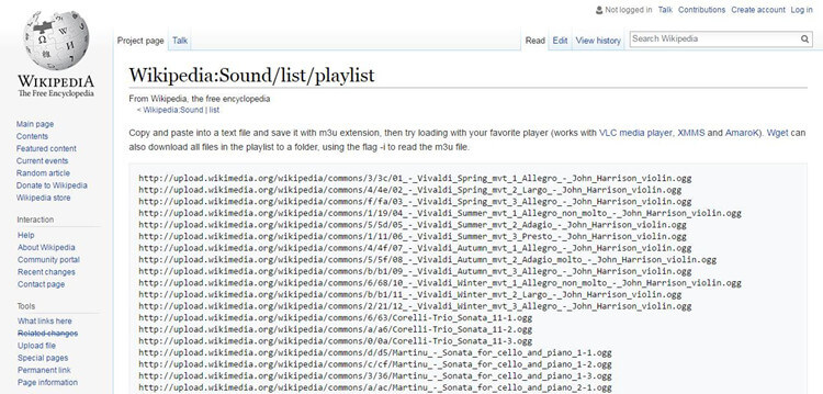 free MP3 music download with Wikipedia playlist