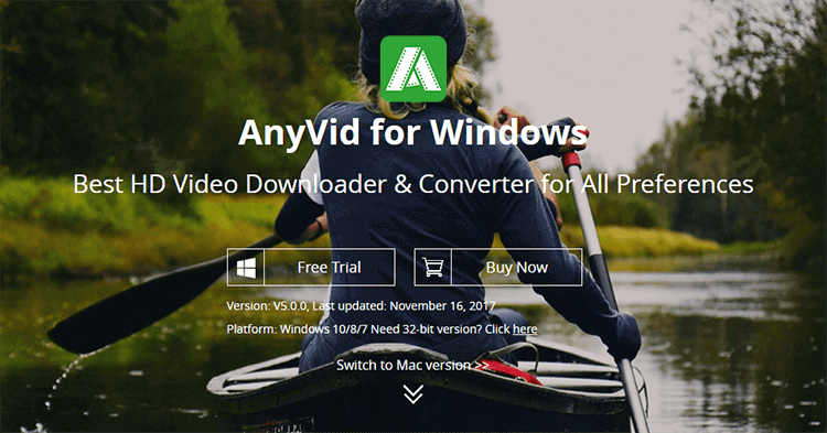 AnyVid Video Downloader