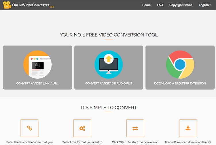 YouTube to MP3 converter - Online Video Converter