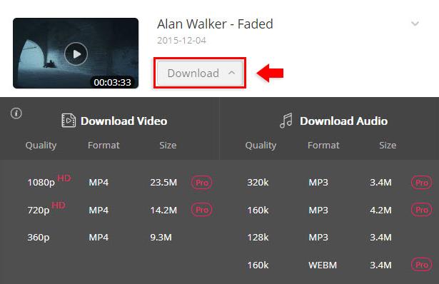 Faded Song Download | Alan Walker