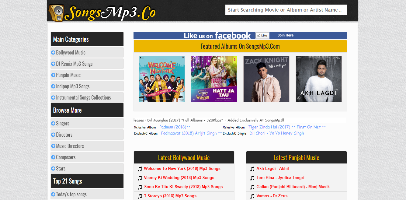 best free bollywood mp3 download site