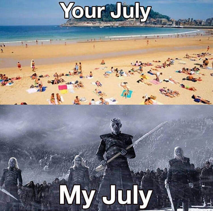 Your July, My July