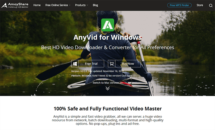 AnyVid HD Video Downloader