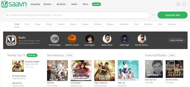 Top 5 Indian Music Streaming Services – Best Music Sites in