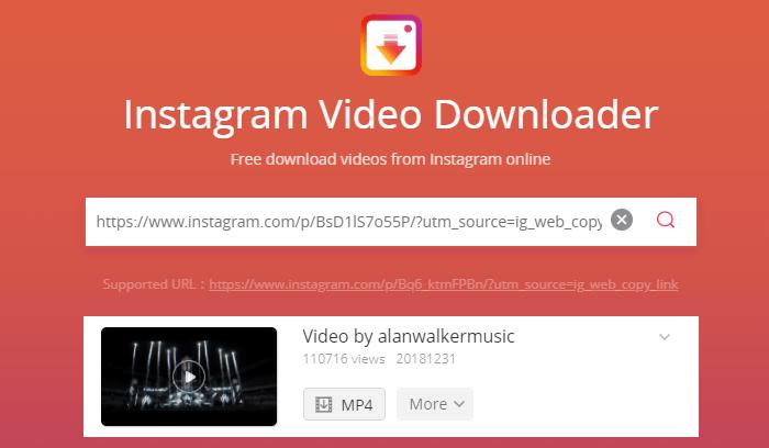 Instagram Video Download Online (2-Step Guide)