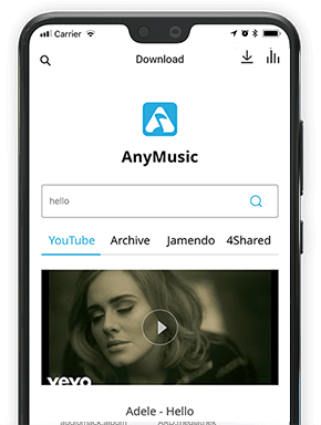 Best Music App for Android to Download Songs AnyMusic Android
