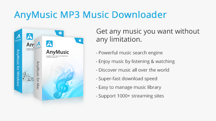AnyMusic MP3 Music Downloader