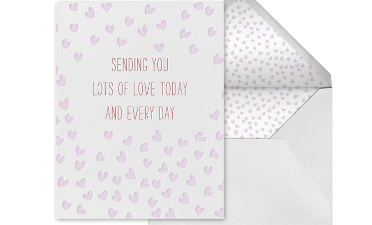 Valentine's Day card for girlfriend