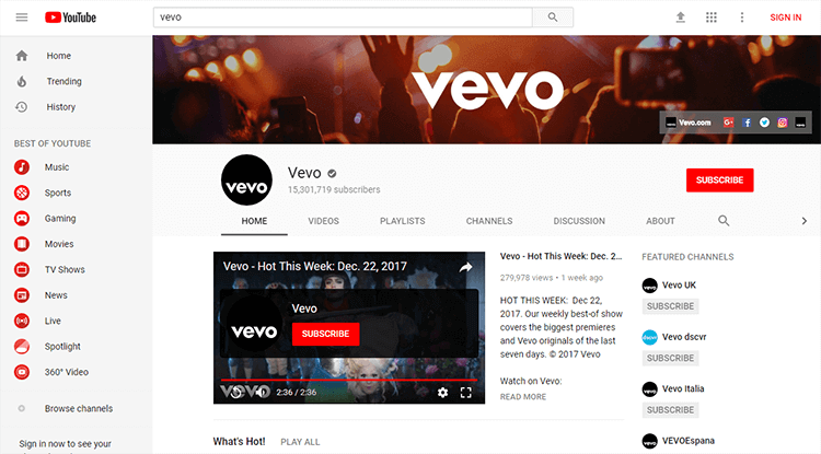 How to Download Vevo Music Videos (from YouTube & Vevo com)
