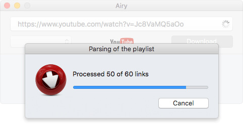 download YouTube to MP3 with Airy