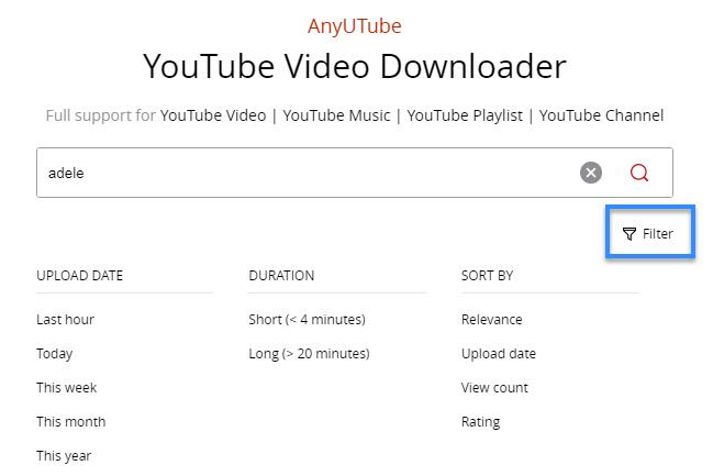 AnyUTube YouTube music converter