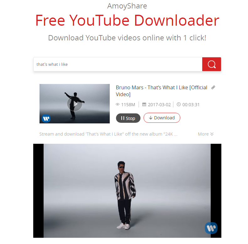 Play on Free YouTube Downloader