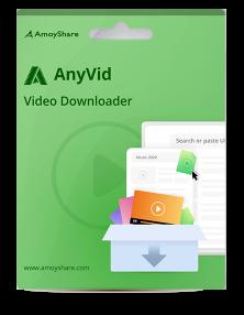 AnyVid-ビデオダウンローダー