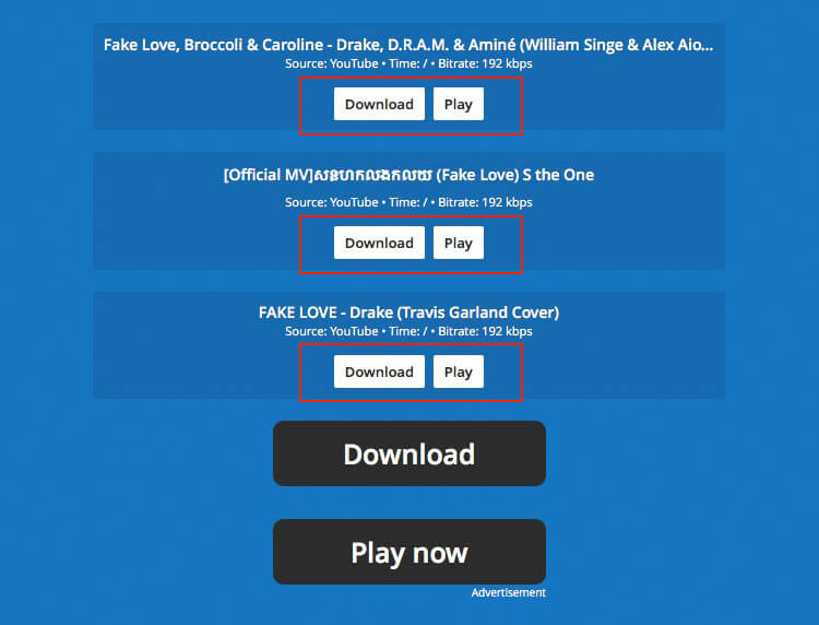 mp3juice free music download button