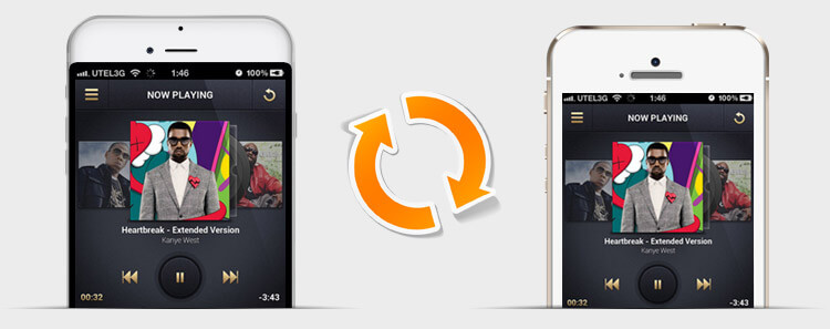 iPhone to iPhone Transfer banner