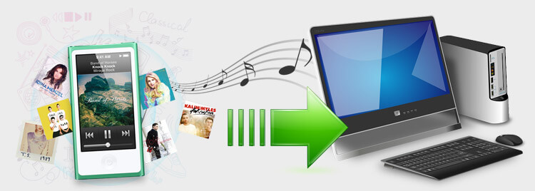 transfer music from ipod to pc banner