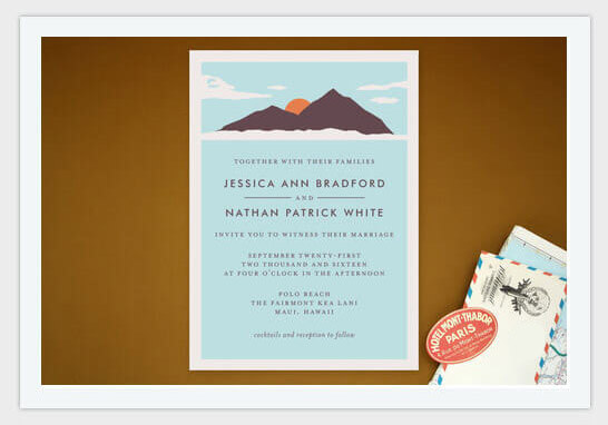 adestination wedding invite for island weddings pic8