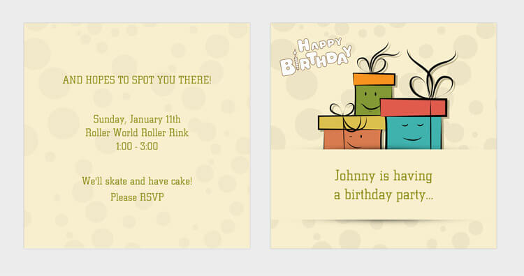 A birthday invitation card guide mp3 birthday invitation cardzip download stopboris Image collections
