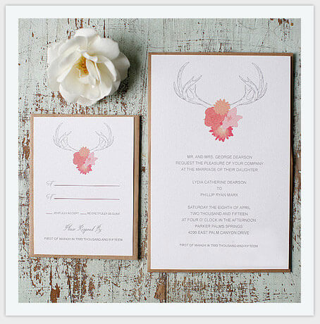 british elegant style wedding invitation card pic11