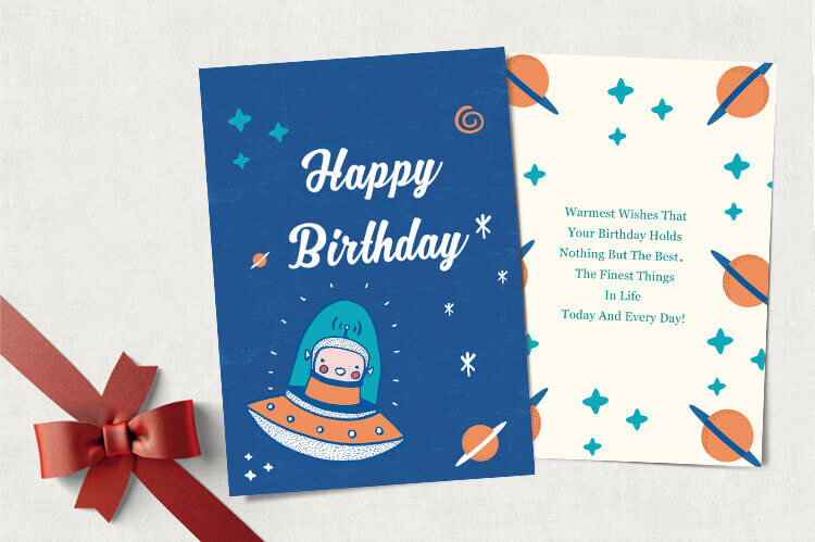 creative birthday card design banner