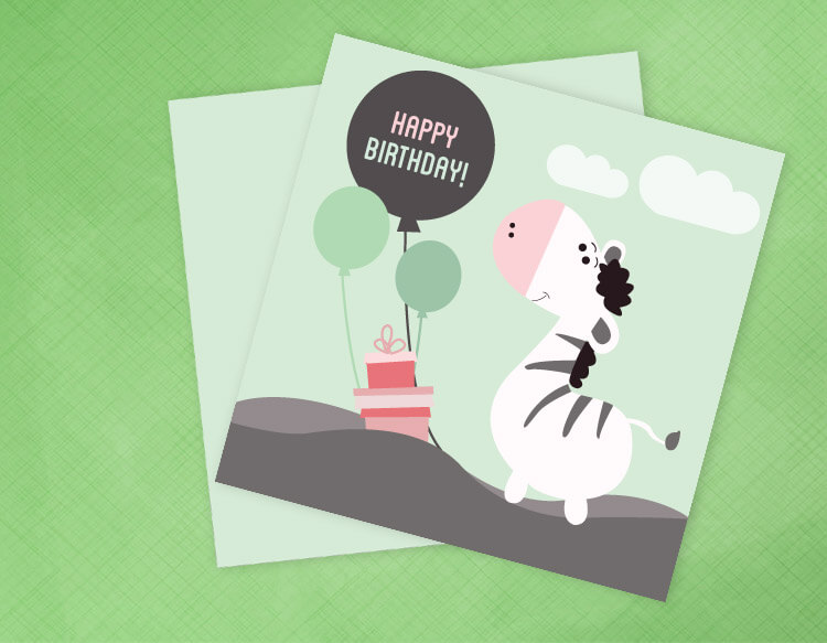 creative birthday card design pic4