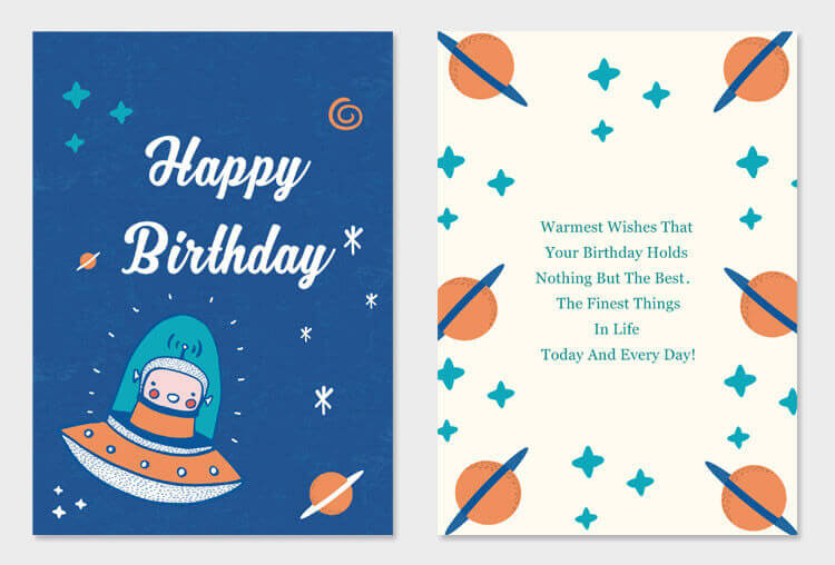 creative birthday card design project