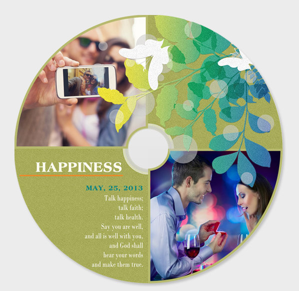 design CD or DVD cover project
