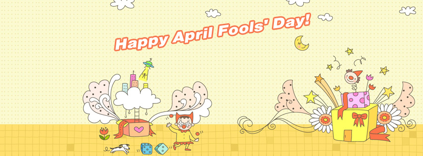 Free April Fools' Day Facebook Covers 2