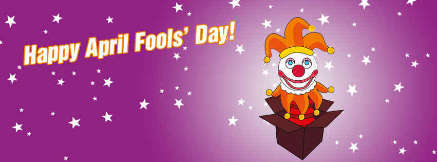 Free April Fools' Day Facebook Covers 4