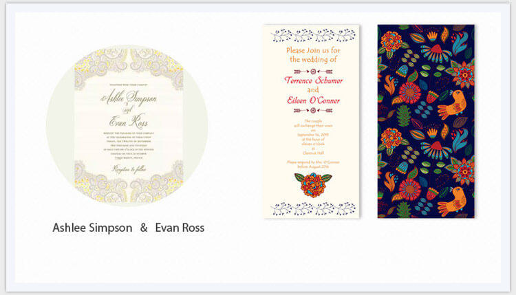 free wedding invitation templates pic6