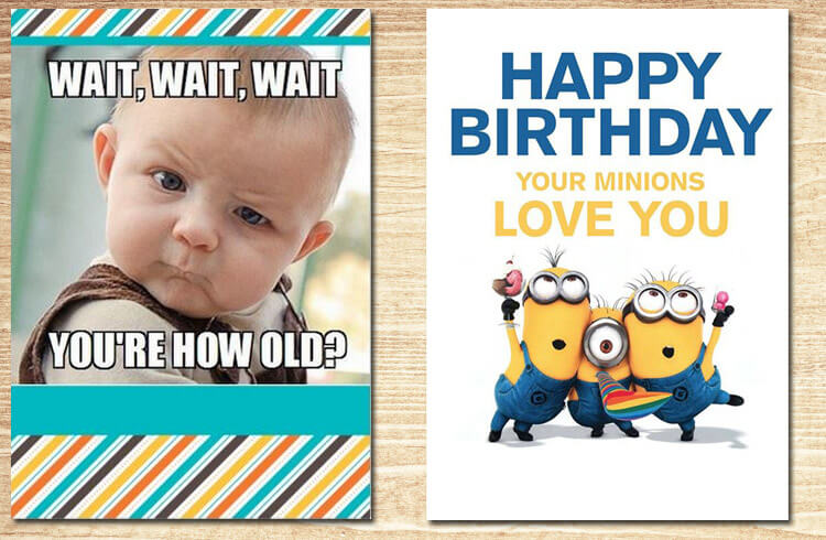 Funny Birthday Cards to Share A Laugh AmoyShare – Humorous Birthday Cards for Her