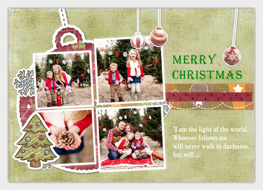 make a christmas card project