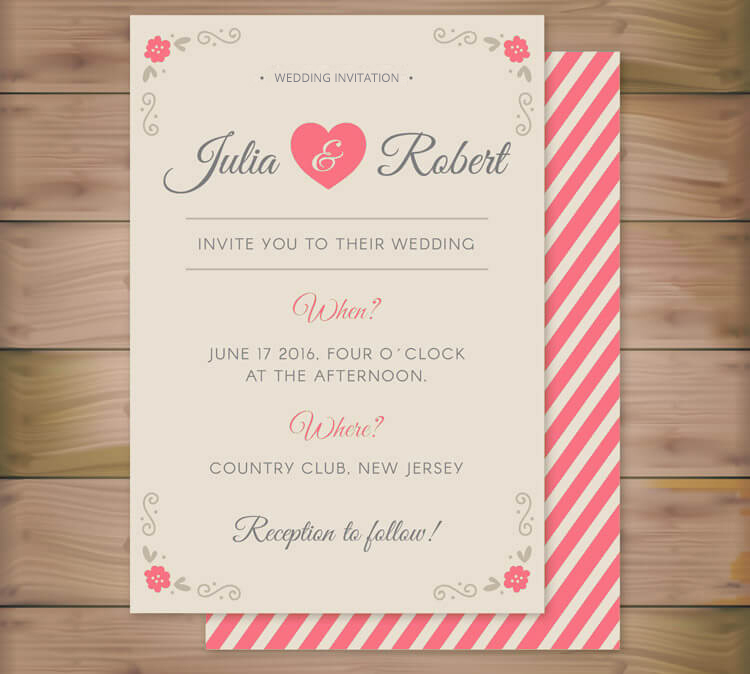 Wedding Invitation Creator Free: Free Elegant Wedding Invitations