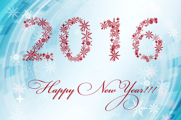 new year card banner