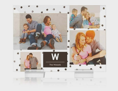personalized photo gift banner