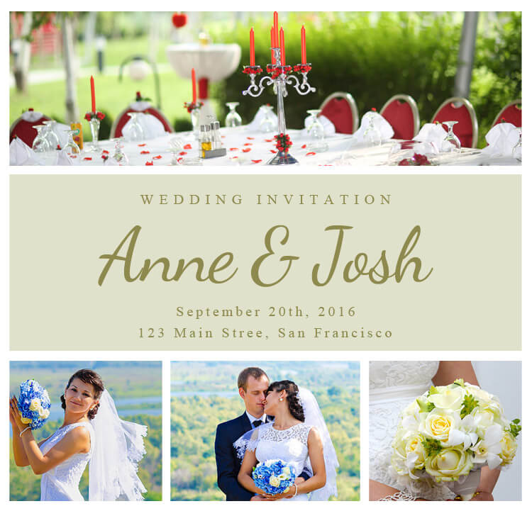 Wedding Invitation Creator Free: Printable Wedding Invitations For Your Big Day
