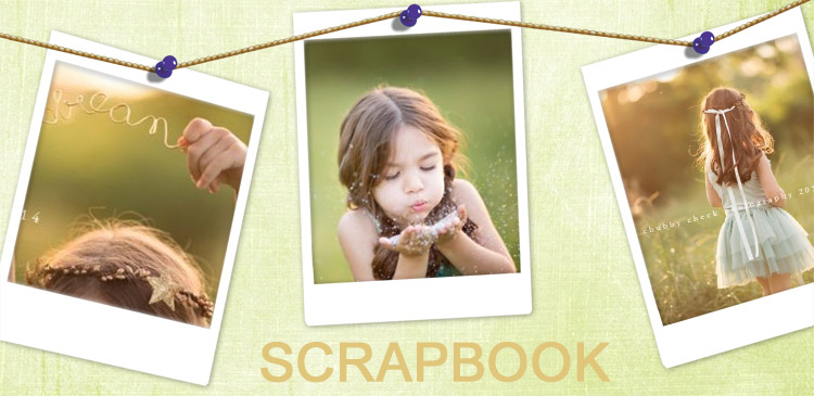 scrapbooking your childs growth banner