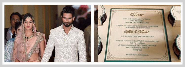 shahid kapoor wedding pic2