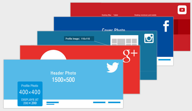 Regular Up-to-Date Social Media Images and Covers Guide - AmoyShare