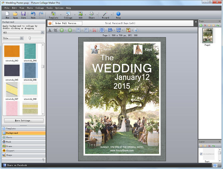 personalized wedding poster 3