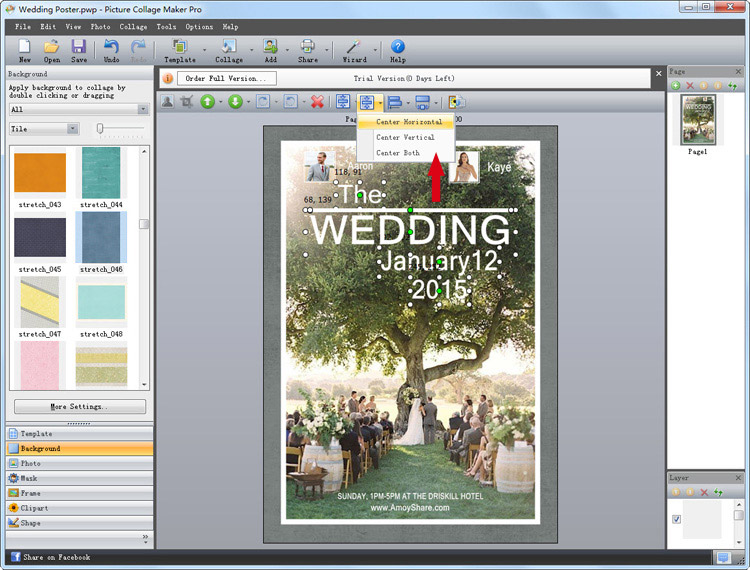 personalized wedding poster 4