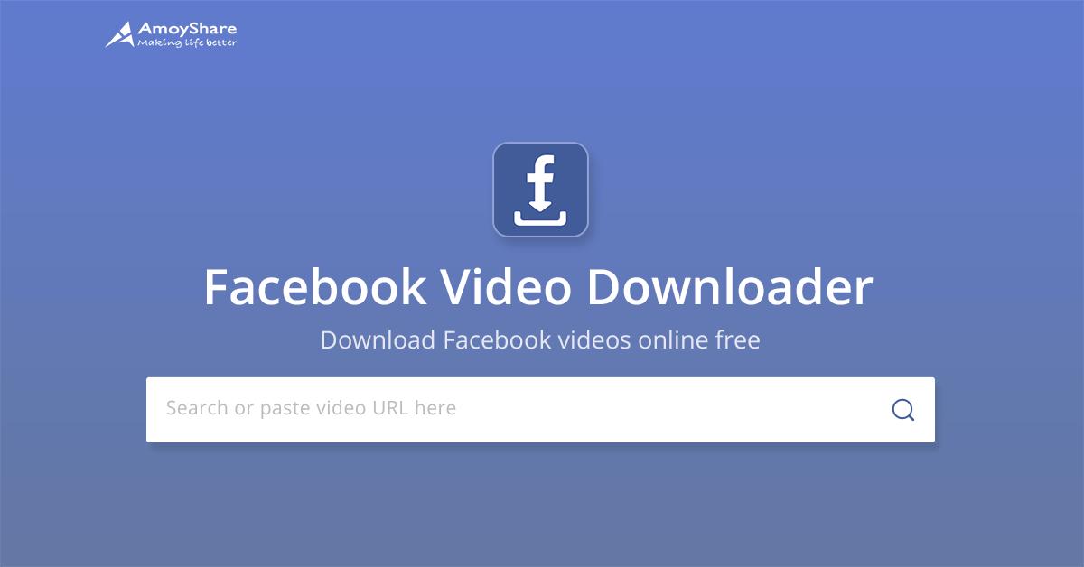 Free Facebook Video Downloader – Save Facebook Video