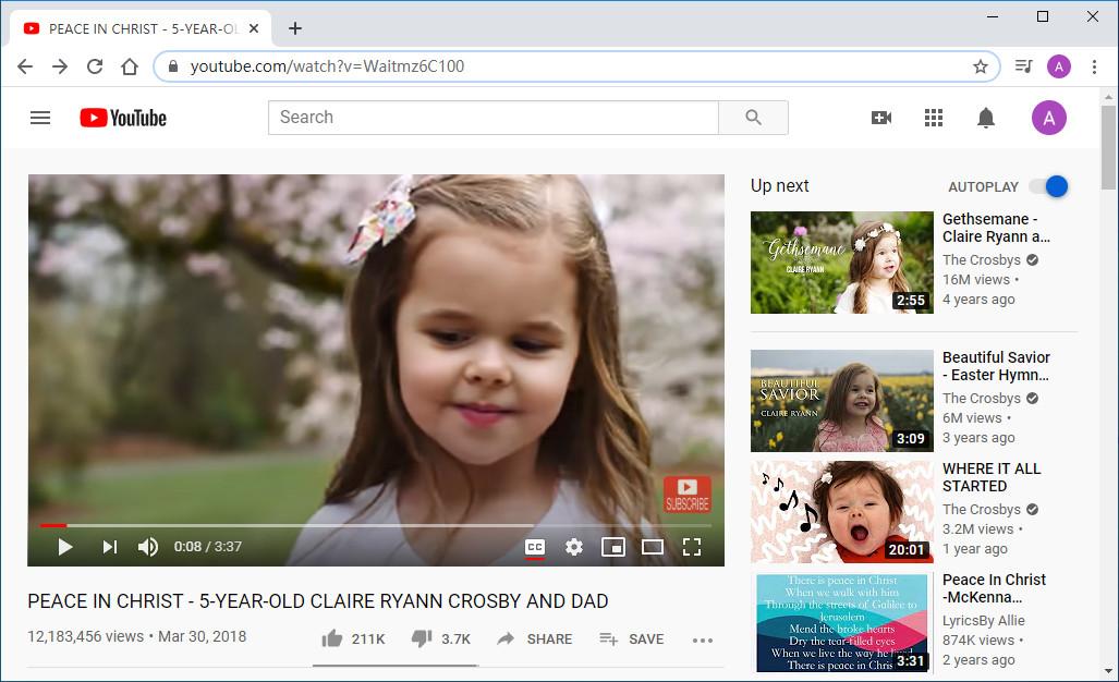 Copia il link YouTube