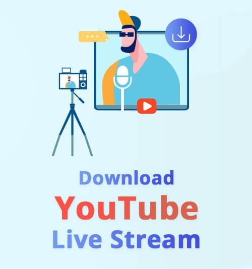 Laden Sie den YouTube Live Stream herunter