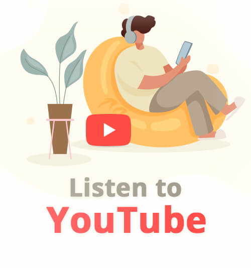 استمع إلى YouTube