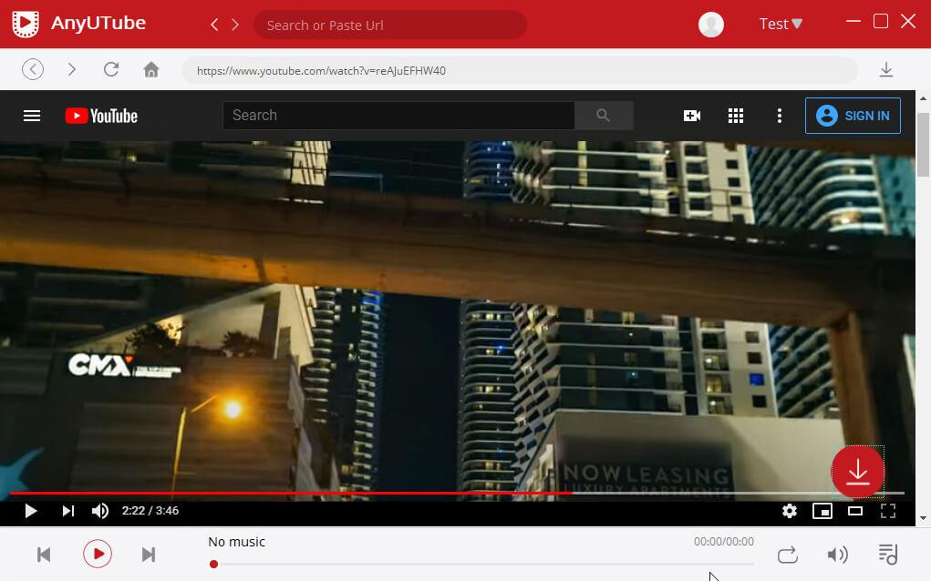 Wähle dein bevorzugtes YouTube-Video aus