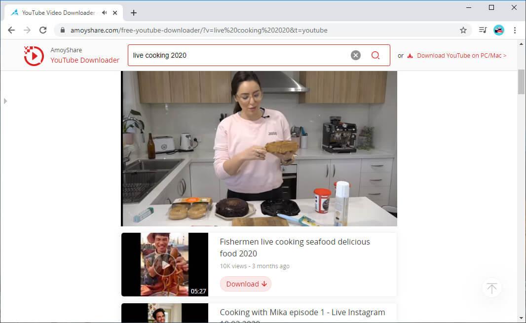 Sehen Sie sich den YouTube-Live-Stream an