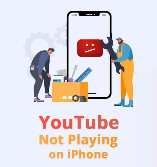 YouTube spielt nicht auf dem iPhone